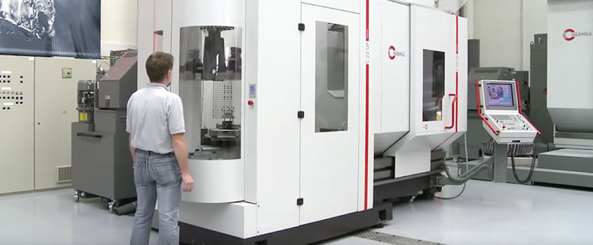 New CNC Hermle C 22 U-PW 150 machining centre